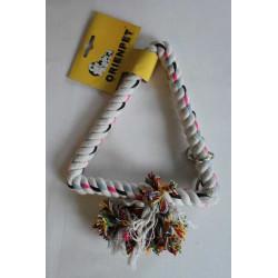 Hračka lanová biela 22x22x18cm