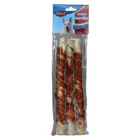Dentafun tyčinka obalená kuracím mäsom 17cm/3ks