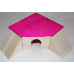 Domček skladací 14,5x14,5x6,6cm