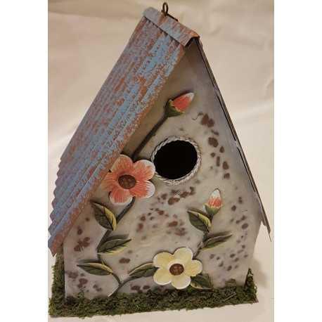 Plechový domček pre vtáky C