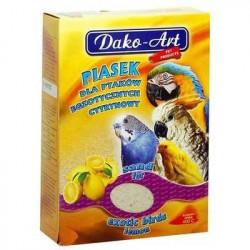 DAKO - ART Piesok pre vtáky citrónový 250g