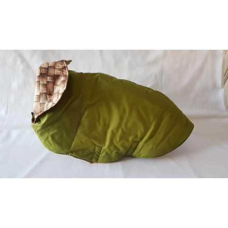 Zateplená vesta zelená