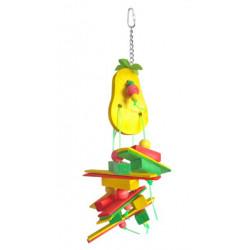 Lanová hračka pre papagáje 27x12cm