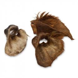 Sušené hovädzie ucho s vlasmi