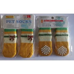 Ponožky Žlté- S, L, XL