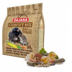 COUNTRY MIX krmivo pre potkany a myši 500g