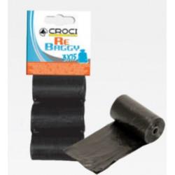 Sáčky na trus 3ks čierne