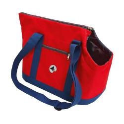 Taška Giselle modrá/červená 49x23x31cm