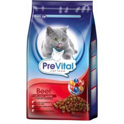 PreVital mačka hovädzie + zelenina, granule 1,8 kg