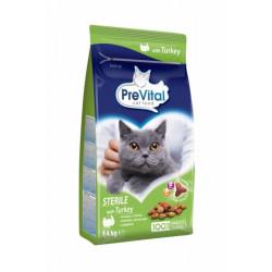 PreVital mačka steril morčacie, granule 1,4 kg