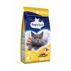 PreVital mačka kuracie granule 1,4 kg