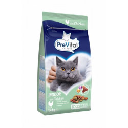 PreVital pre domáce mačky, kuracie granule 1,4 kg