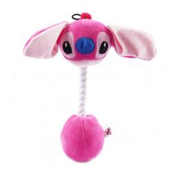 Pes ružový 31cm