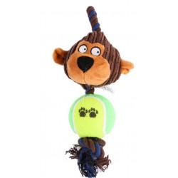 Lanová opica s loptičkou 24cm