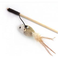 Hračka myš na paličke 40x62cm