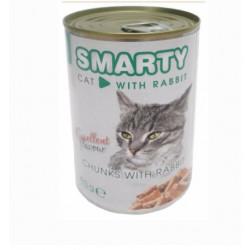 SMARTY chunks Cat Králik 410 g