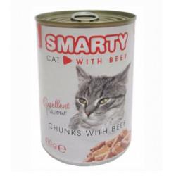 SMARTY chunks Cat Hovädzie 410 g