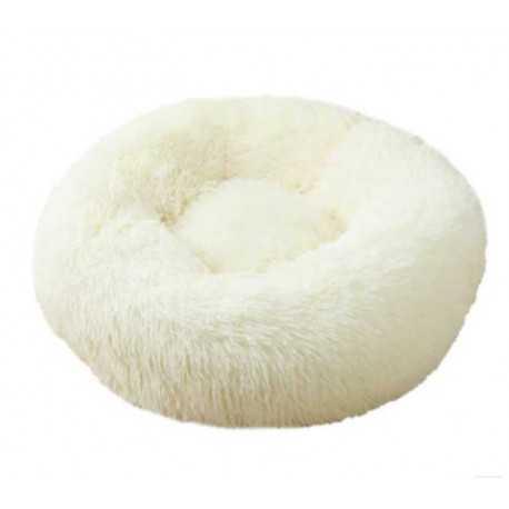 Pelech chlpatý biely
