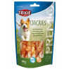 Premio CHICKIES Light - kalciové kosti s kuracím mäsom 100 g