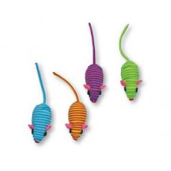 Hračka myš farebná 5cm